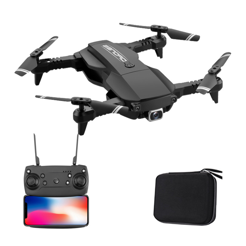 H2 4K High-definition Aerial Photography Optical Flow Positioning Set High Folding Unmanned Aerial Vehicle Storage Bag Quadcopte