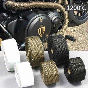 Motorcycle Exhaust Tape Wrap Covers Accessories For HONDA cb650r zoomer cbr1000rr forza 250 cb 900 hornet nc750x cb600f sh 125i image