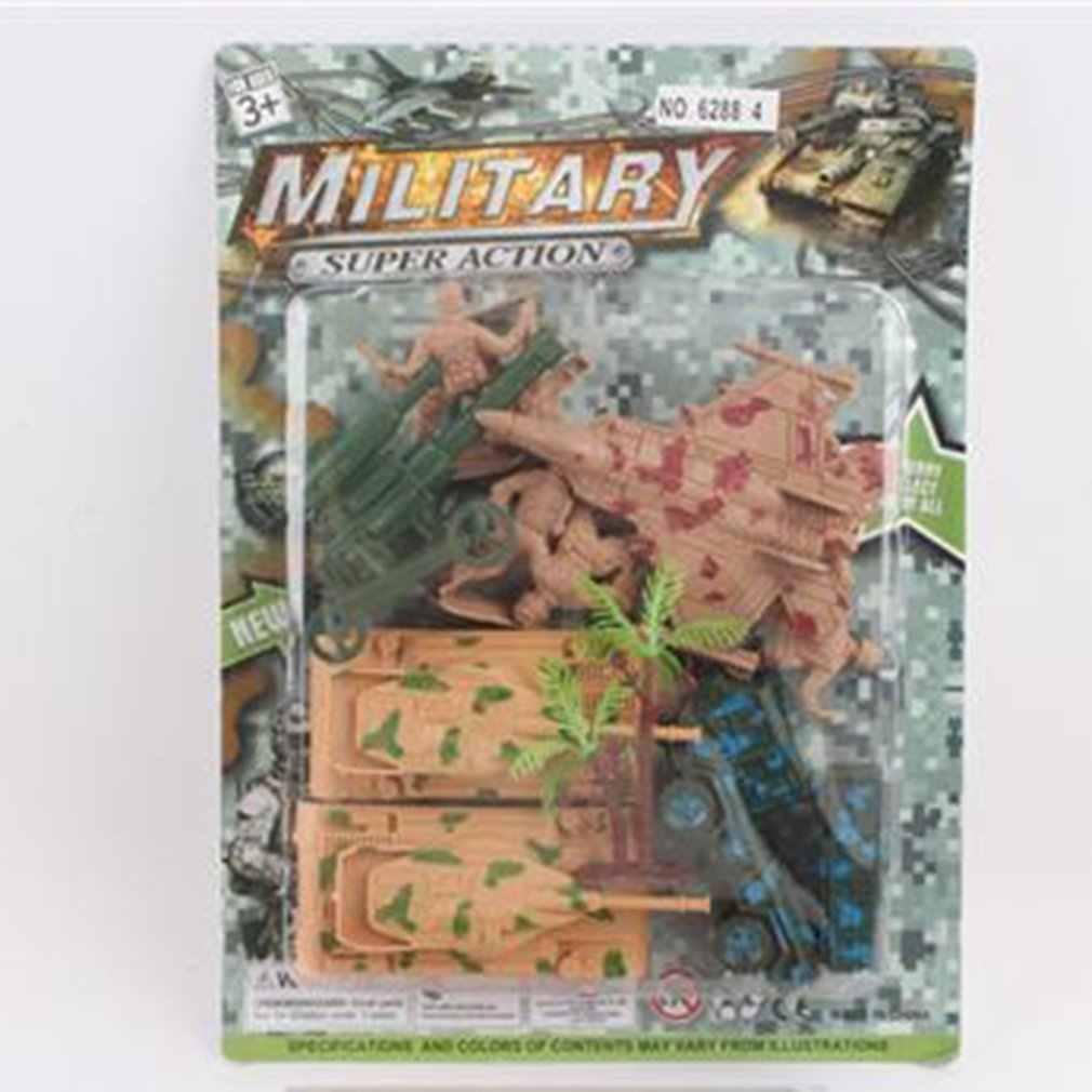 Militer Seri Diecast Logam Paduan Mainan Model Mobil Model Mobil Kendaraan Koleksi Set Mainan untuk Anak Set 36 Pcs