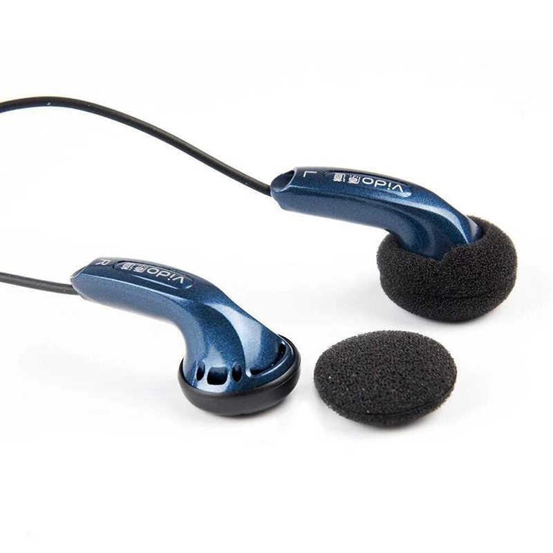 Vido wysokiej jakości słuchawki przewodowe Soundtrack bas radiowy zestaw słuchawkowy z redukcją hałasu muzyka do gier sport popularne słuchawki