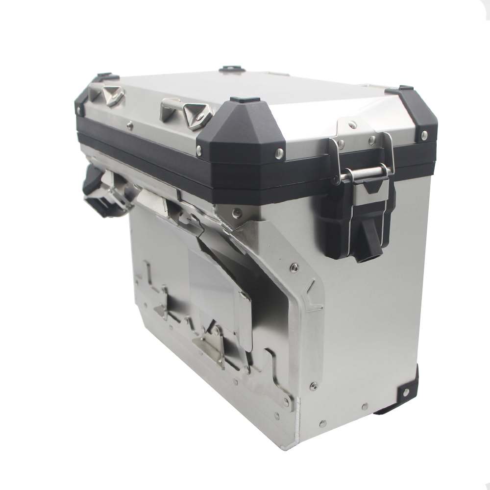 Image 4 - For R1200GS ADV LC R1250GS/ADV LC 2014 2019 Motorcycle Panniers Saddlebag Top Case Box Stainless Steel Orignal Style-in Covers & Ornamental Mouldings from Automobiles & Motorcycles