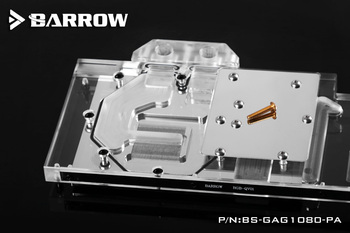 Barrow BS-GAG1080-PA, LRC 1.0 Full Cover Graphics Card Water Cooling Block for GALAXY GTX1080 / 1070/1060 Gamer image
