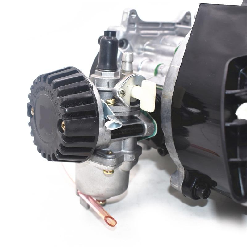 2 hub Pull Start-Motor Motor Getriebe Motor Luftfilter Mini Tasche Pit Quad Dirt Bike ATV 4 Rad
