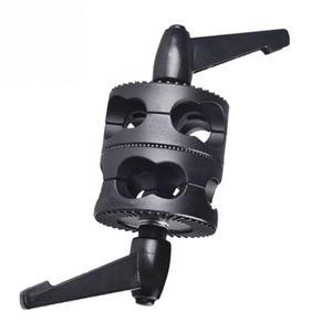 Image 2 - Universal Bracket Multifunctionalผู้ถือPhoto Studio Grip Head Clamp Dualหมุนการถ่ายภาพแขนอุปกรณ์เสริม