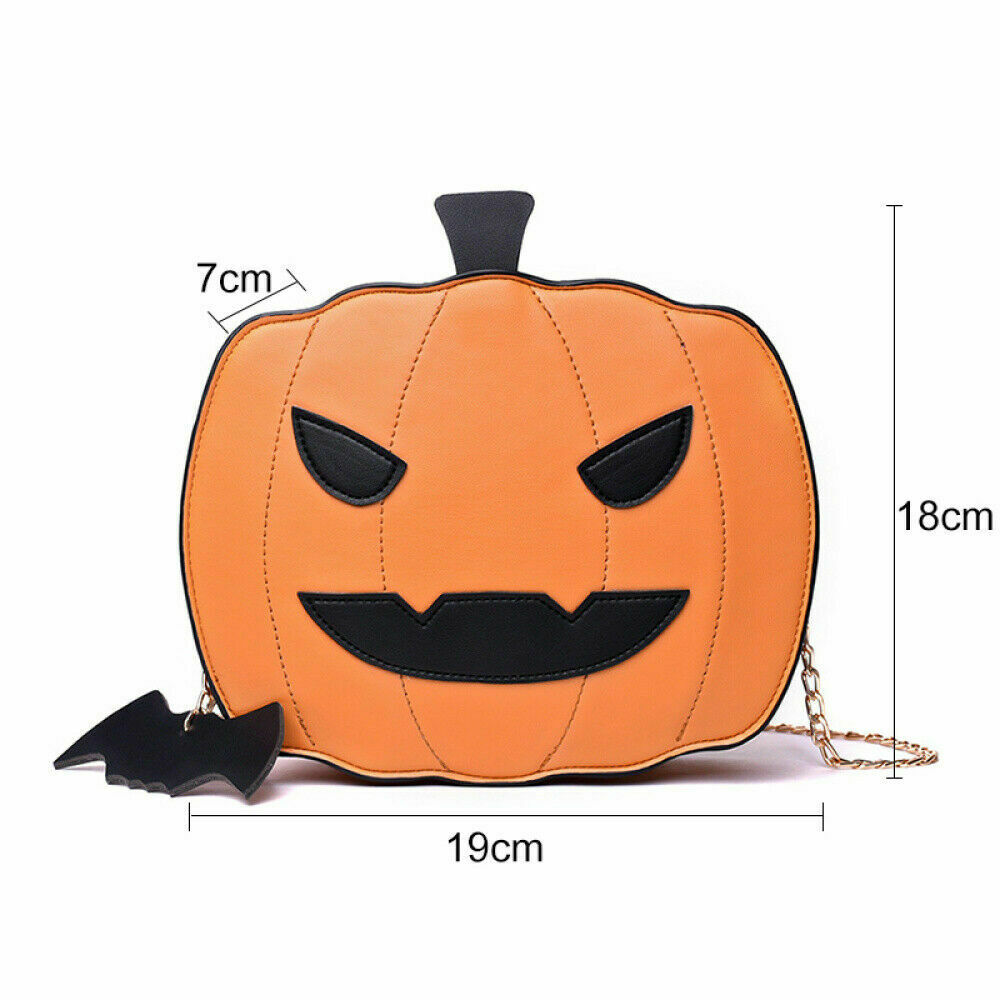 Pumpkin Handbag Messenger-Bag Candy-Bag Casual Purse Shoulder Funny Halloween Girls Ladies