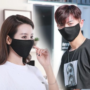 Fashion Cotton Sequin Mask Anti-Haze Shining Party Activated Carbon Windproof Mouth Muffle Bacteria Proof Flu Face Masks New