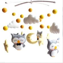 Детские подвижные погремушки, игрушки для детей 0-12 месяцев, для новорожденных, кроватки, колокольчик, Oyuncak, погремушки для малышей, карусель для кроваток, детская игрушка ручной работы
