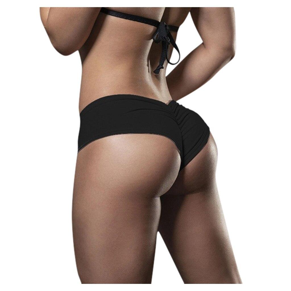 Женские эластичные спортивные шорты с низкой талией для фитнеса, тренажерного зала, бега, быстросохнущие короткие леггинсы, сексуальные же...