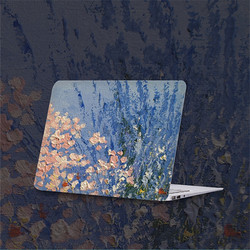 Ốp Lưng Cho HuaWei MateBook 13 WRT-W19 WRT-W29 Trong Suốt Pha Lê Trong Suốt Hoa Notebook Laptop Dành Cho HuaWei MateBook 13 Inch