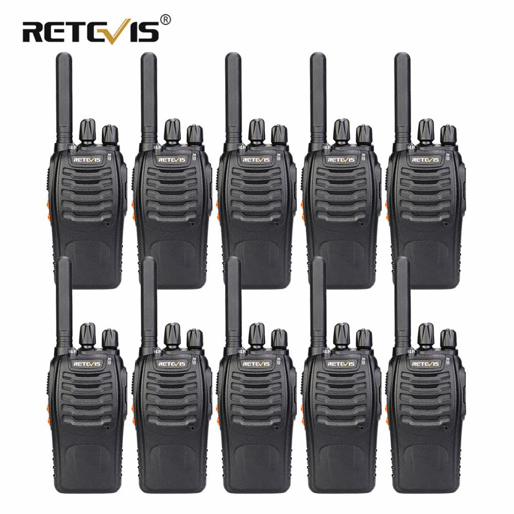 Retevis Walkie-Talkie Pmr Radio Handy PMR446 Usb-Charger Plus FRS Cheap Hotel 10pcs Warehouse
