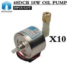 10 adet 40DCB 18W YAĞ POMPASI duman makinesi elektromanyetik pompa