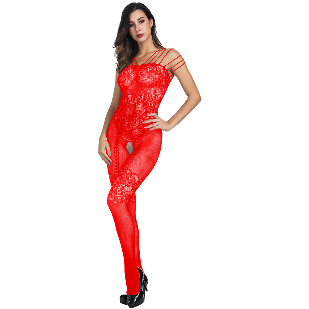 NY365 Black Sling Netting For Women Stocking Sexy lingerie Intimates fishnet Female Stockings Set Hot Lace Top Thigh Underwear