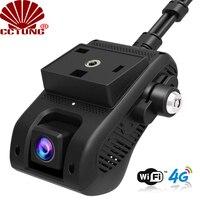 JC400 4G سيارة ذكية تتبع نظام تحديد المواقع داشكام مع واي فاي هوت سبوت وثنائي 1080P تسجيل الفيديو سحابة لايف SOS إنذار عن طريق تطبيق جوال مجاني-في كاميرات المراقبة من الأمن والحماية على