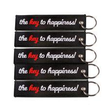 Clelo сумка аксессуары Подвеска вышивка ключ к счастью украшение