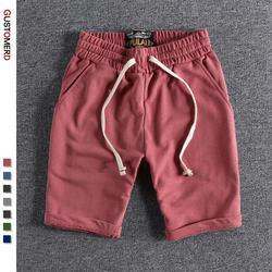 2021 New Summer 100% Cotton Soft Shorts Men Casual Home Stay Men's Running Shorts Sporting Men Shorts Jogging Short Pants Men