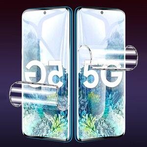 Image 5 - 3 Pièces Protecteur Décran Pour Samsung Galaxy S10 S9 S8 S20 Plus Couverture Complète Film Souple Pour Samsung Note 10 9 8 Plus A51 A50