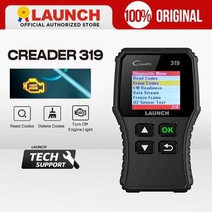 Image 1 - Launch X431 Creader 319 CR319 자동 코드 리더 전체 OBDII EOBD 자동차 진단 도구 OBD2 스캐너 Creader 6001 CR3001