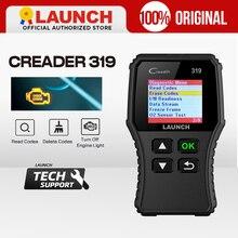 השקת X431 Creader 319 CR319 אוטומטי קוד קורא מלא OBDII EOBD רכב אבחון כלי OBD2 סורק כמו Creader 6001 CR3001
