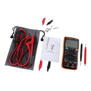 ANENG AN8008 Digital Multimeter 9999 Counts With Backlight AC/DC Volt Amp Ohm Capacitance Frequency Diode Tester Multi Meter(China)