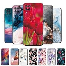 Чехол для Samsung A12, Бампер для Samsung A12, 6,5 дюйма, мягкий силиконовый чехол из ТПУ для Samsung A12, чехол с мультяшными цветами, задняя крышка, Coque