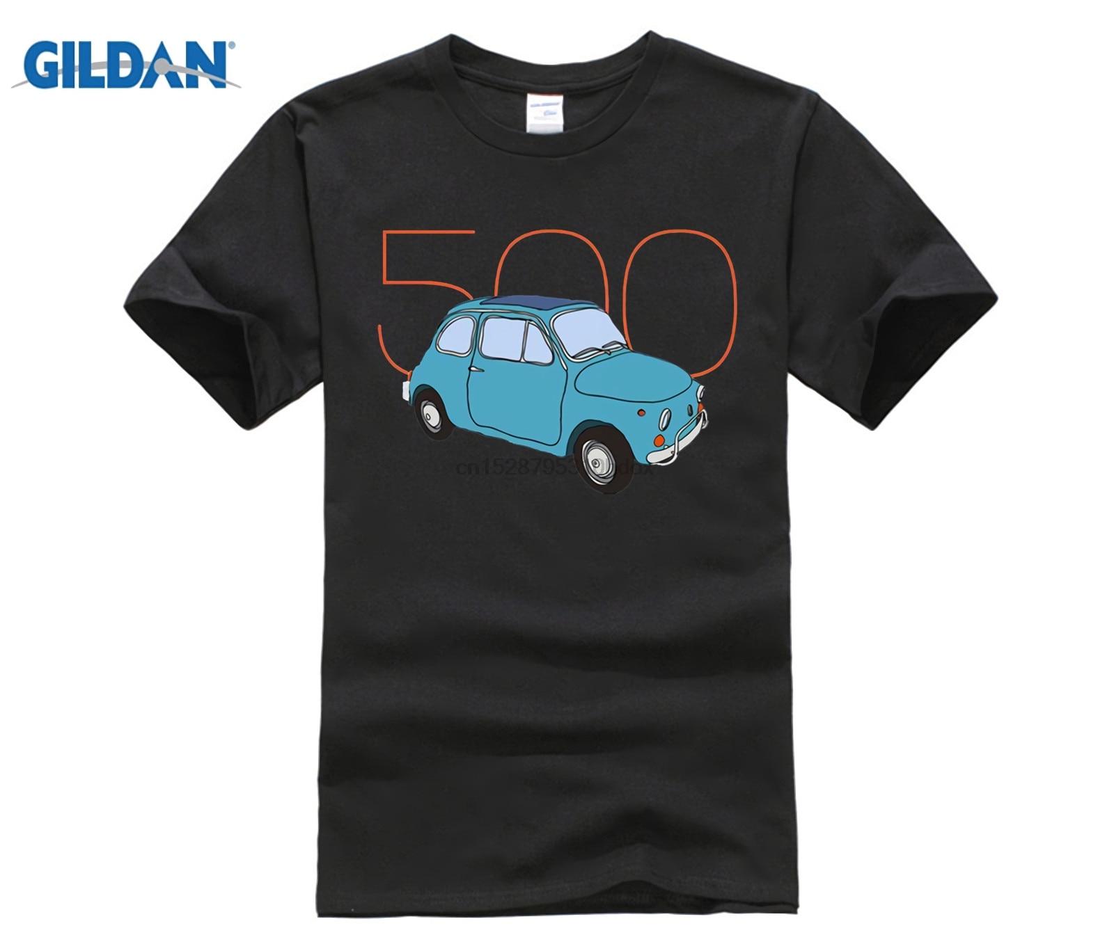 Fiat 500 - Classic Vintage Car T-Shirt