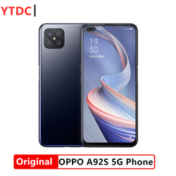 Original Official New Oppo A92S 5G Cell Phone Octa Core MTK6873V 6G RAM 128G ROM 6.5inch LCD 2400x1080P 48MP Camera 4000Mah