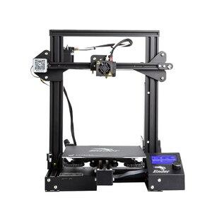 Image 2 - Ender 3 Pro 3D Printer Verbeterde Magnetische Bouwen Plaat Hervatten Stroomuitval Afdrukken Diy Kit Mean Well Voeding