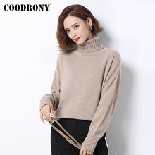 Coodrony бренд 2020 новый зимний тонкий пуловер женские свитера