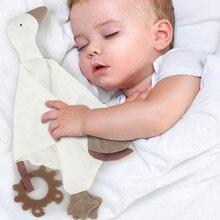 Мягкие плюшевые игрушки для новорожденных на возраст от 0 до 12 месяцев Детские полотенца спальный игрушки Детские Плюшевые сна игрушки-Прор...
