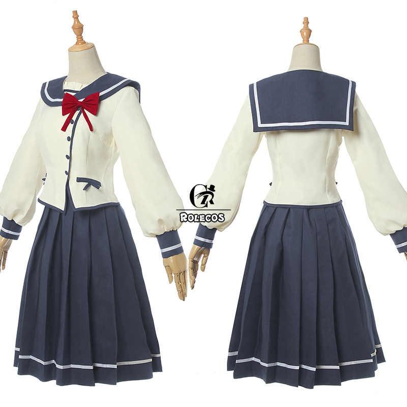 Rolecos Anime Oresuki Sanshokuin Sumireko Cosplay Kostuum Viooltje Erts Wo Suki Nano Wa Omae Dake Ka Yo Schooluniform Vrouwen kostuum
