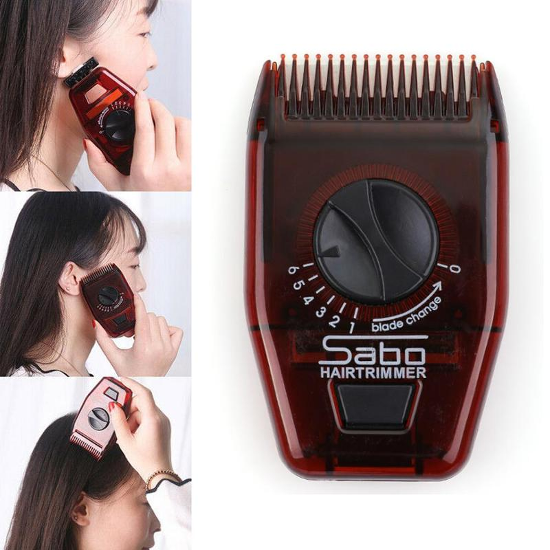 Multifunctional Manual Hair Trimmer Hairdressing Comb Adjustable Portable Hair Horn Trimmer Hair Comb For Travel Women Girl New