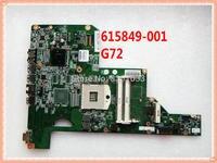 615849-001 FÜR HP G72T-B00 NOTEBOOK für HP G72 G72T Notebook PC Laptop motherboard DDR3 alle funktions Getestet ok