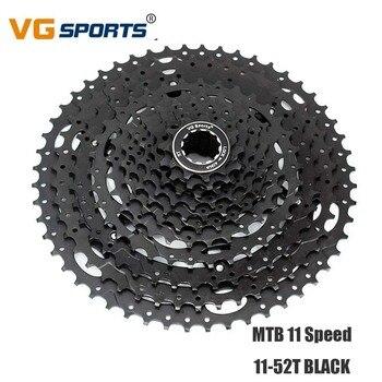 MTB Bike Freewheel Cassette 11 Speed 11-52T for Shimano Sram Bracket Sprocket 11s 11 Velocidades 11-52T Bike Flywheel VG Sports