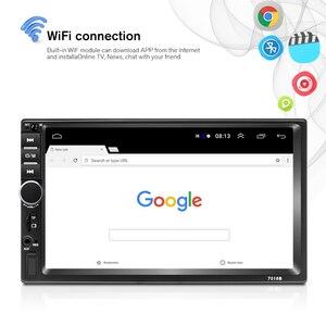 Image 4 - Podofo 2din araba radyo Android GPS Navi Wifi araba multimedya oynatıcı evrensel için otomatik Stereo Volkswagen Nissan Hyundai Kia toyota