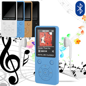 1.8-inch Bluetooth Speaker Button Mp3 Player Supports 32gb Expansion Mini Portable Walkman With Radio Fm Recording 13 Languages