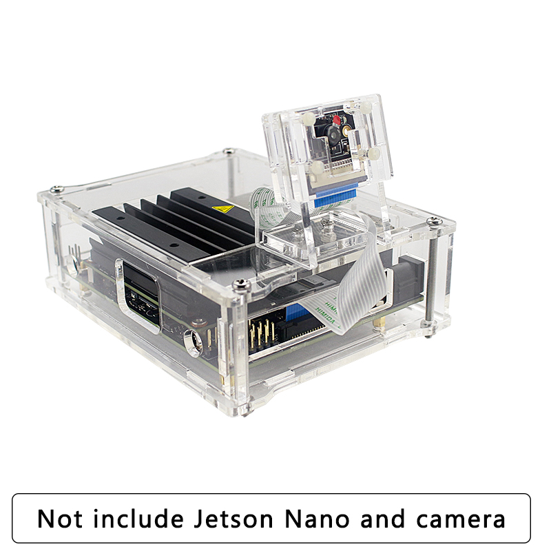 Acrylic Camera Holder For Nvidia Jetson Nano Camera 8MP IMX219 77 Degree Camera Support Acrylic Case