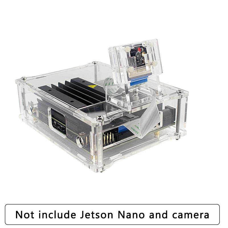 Acrylic Camera Holder For Nvidia Jetson Nano Camera 8MP IMX219 77 Degree Camera Support Acrylic Case