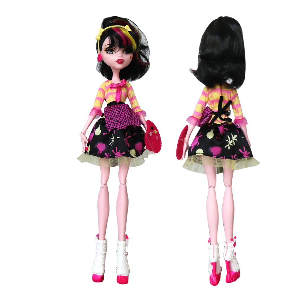 Original Brand 1/6 BJD Doll 30CM Monster Dolls Movable Joints Girls Toys High-School Doll Best Birthday Gifts For Children