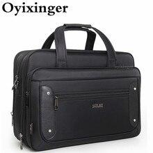 Large Capacity Business Men Briefcase Male Handbags Laptop Bags 17 Inches Oxford Crossbody Travel Bag Sac Homme Bandolera Hombre