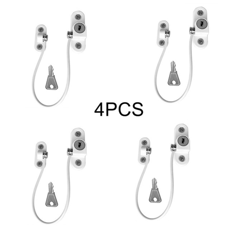 AYRA Window Locks Children Protection Lock Stainless Steel Window Limiter Baby Safety Security Infant Security Child Window Lock