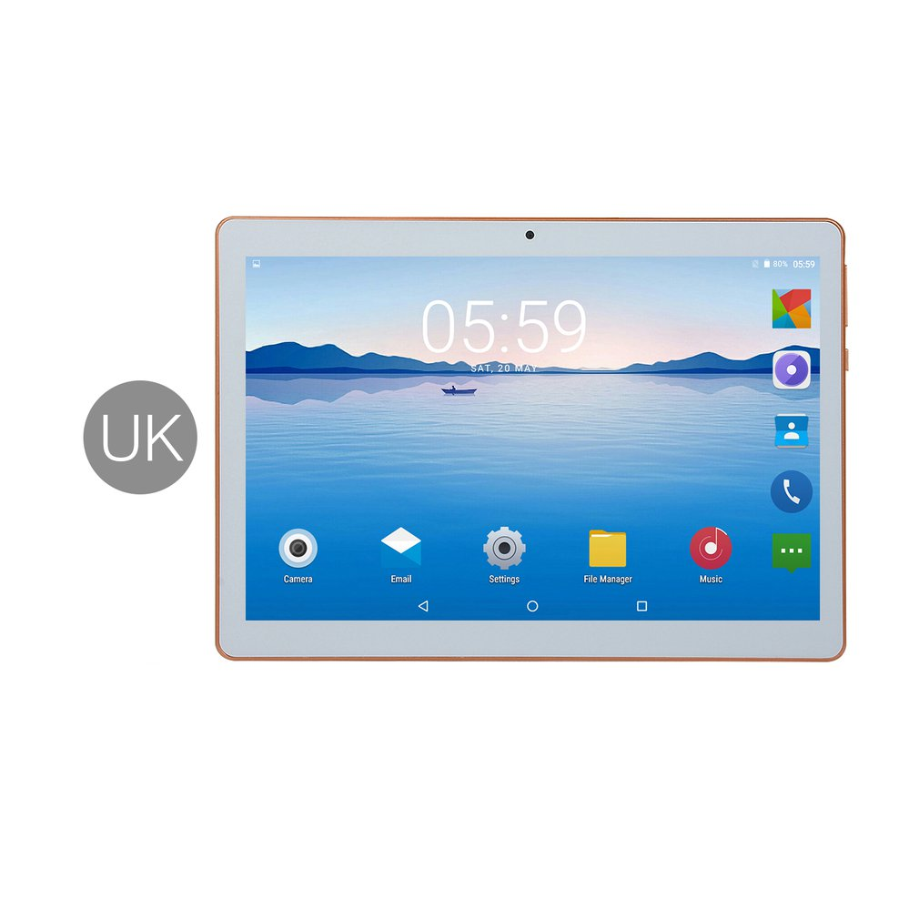10.1 Inch IPS Screen Android 8.0 Ten-core Tablet PC 6GB+64GB Dual SIM Card Slots 3G Phone Call With GPS FM (US EU UK AU)