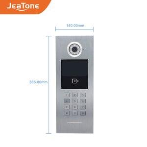 Image 5 - 7 ekran dotykowy duży budynek WIFI IP wideo domofon telefoniczny przełącznik POE 2to5 System kontroli dostępu wsparcie hasło/karta elektroniczna