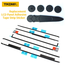 TKDMR Replacement LCD Panel Adhesive Tape Strip Sticker + Opening Wheel Tool Kit for iMac(27/21.5-inch, Late 2012/2013/2014/15)