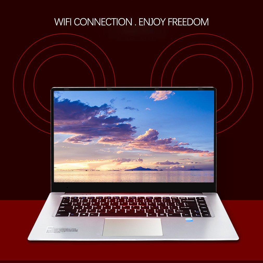 "15.6"" Game Notebook Windows 7 /10 8GB RAM 128GB HDD DVD Fast PC Metal Business Student Arabic AZERTY Spanish Russian Keyboard"