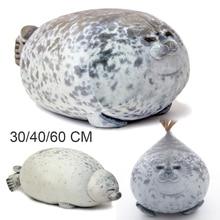 Милый морской Лев плюшевый игрушки 3D новинка Пледы Подушки мягкое уплотнение плюшевые новоселье вечерние подушки
