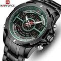 NAVIFORCE мужские часы Топ люксовый бренд водонепроницаемые Бизнес Кварцевые часы мужские военные спортивные мужские часы Дата Relogio Masculino
