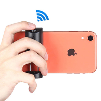 Smartphone Selfie Booster Handle Grip Bluetooth Photo Stablizer Holder with Shutter Relese 1/4 Screw Phone Stand 1