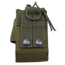 Bag Walkie-Talkie-Bag Fan-Accessory-Bag Military Multifunctional Large-Capacity Green
