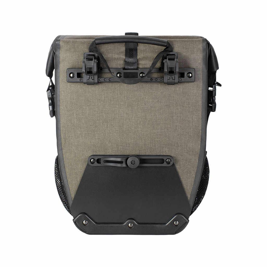Велосипедная Сумка велосипедная сумка на руль Водонепроницаемая велосипедная сумка емкость полка 27Л велосипедная седельная сумка Горячая Распродажа I400923
