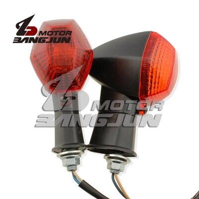 Para SUZUKI 79A SV400 SV650S SV1000 DL650 luces de señal de giro indicador de la lámpara de dirección 1 par 2 uds. Bombilla de repuesto T5 tubos de luz LED G5 DC12V 6w 430mm 450mm 480mm 1ft tubo fluorescente de conductor incorporado
